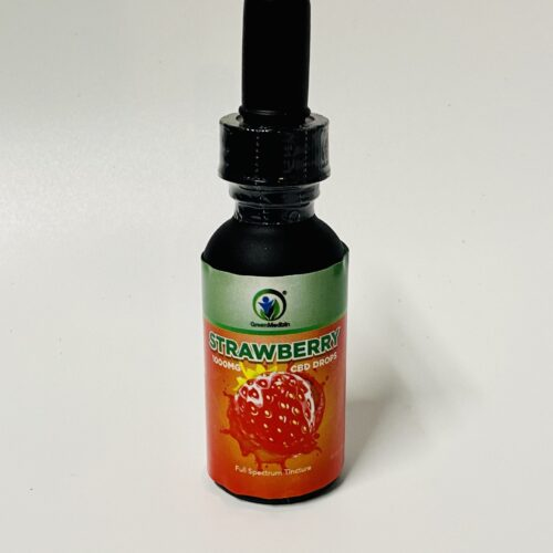 Strawberry flavored tincture
